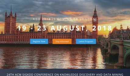 PrEstoCloud presentation at KDD in London on August 22