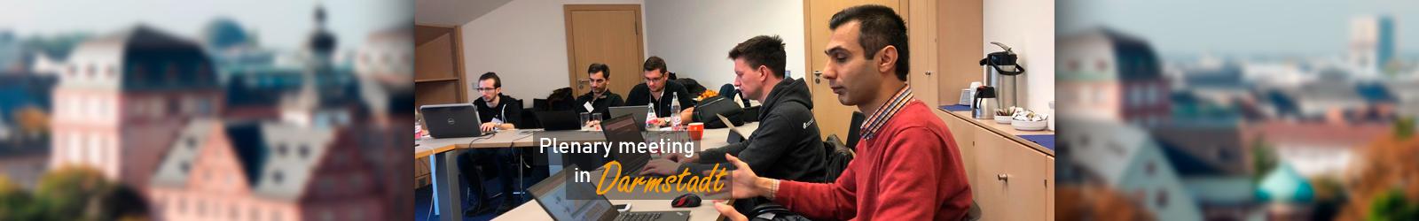 Plenary Meeting in Darmstadt