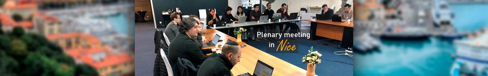 Plenary Meeting in Nice